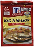 Mccormick Cooking Bag & Seasoning Mix Pot Roast 0.81 Oz - 4 packs