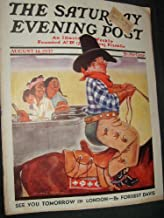 The Saturday Evening Post Summer Moonshine (August 14, 1937, Volume 210, No. 7)