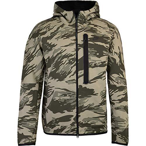 Nike Sudadera Tech Fleece con capucha y cremallera. camuflaje M