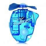 Accessotech Mini Water Cooling Spray Fan Powerful Cool Mist Portable Handheld Gadget Sport[Blue] (Blue)