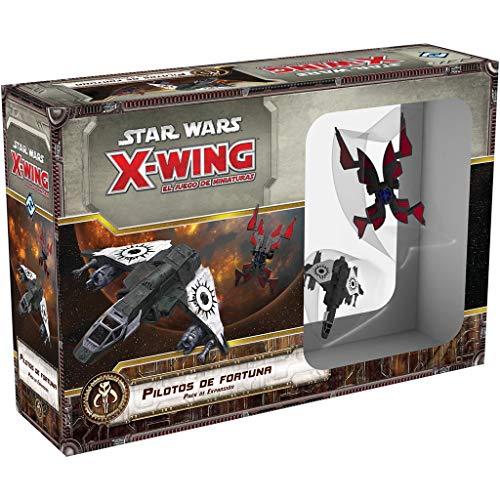 Fantasy Flight Games- X-Wing, Pilotos de Fortuna (FFSWX73)