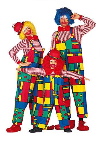 PARTY DISCOUNT ® Damen-Latzhose Clown, Gr. 38