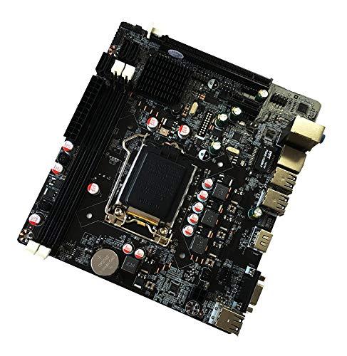 Peanutaoc Professional H61 Desktop Computer Moederbord 1155 Pin CPU Interface opwaarderen USB2.0 VGA DDR3 1600/1333