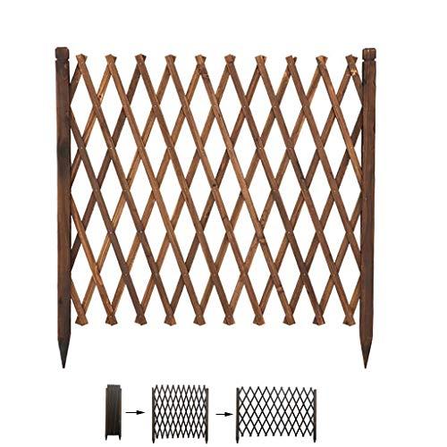 Rankgitter/Holz Rankgitter/Outdoor Gartenzaun/Teleskop Leitschiene/grid Dekoration/Pflanzen Gitter Klettergerüst/Tier Rankgitter/Barriere Tür (Size : 111x200cm)