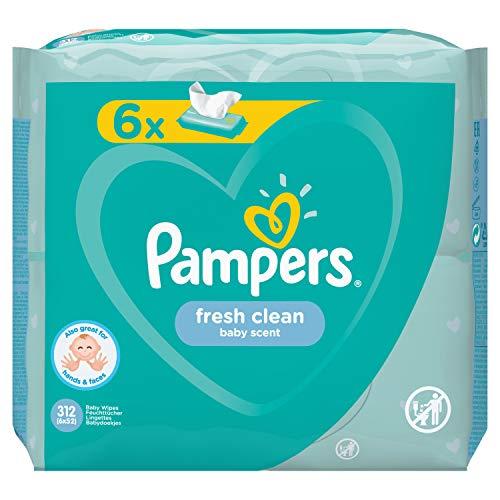 Pampers 81688049 - Fresh clean toallitas húmedas, unisex