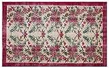 ALLMODE - Alfombra de lana turca hecha a mano, tamaño 157 x 255 cm