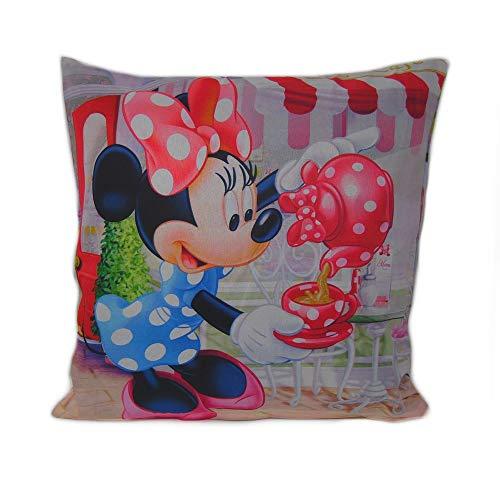 GUIZMAX Taie d'oreiller Minnie Mouse Disney Enfant Coussin New