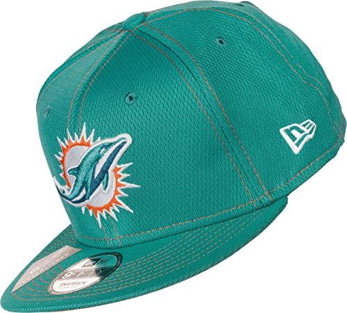 New Era Herren 9Fifty Miami Dolphins Kappe, Turquoise, S/M