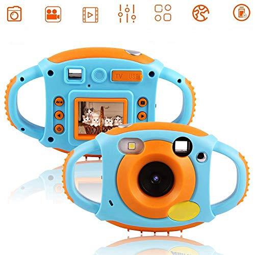 VbestLIFE AMKOV 2 kleuren 1,8 inch mini speelgoed HD digitale videocamera cadeau voor kinderen, ondersteunt meerdere talen.