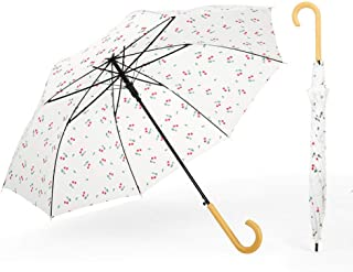 Automatic Folding Umbrella,Small Fresh, Sunny, Umbrella, Easy to Carry One-Button Open Suitable for Both Men and Women ,with Ergonomic Handle
