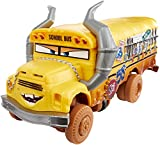 Cars 3- Coche Crazy Deluxe Miss Fritter (Mattel DYB21)