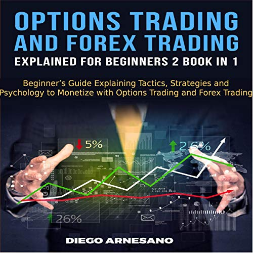 Options Trading and Forex Trading, Explained for Beginners 2 Book in 1 audiobook cover art