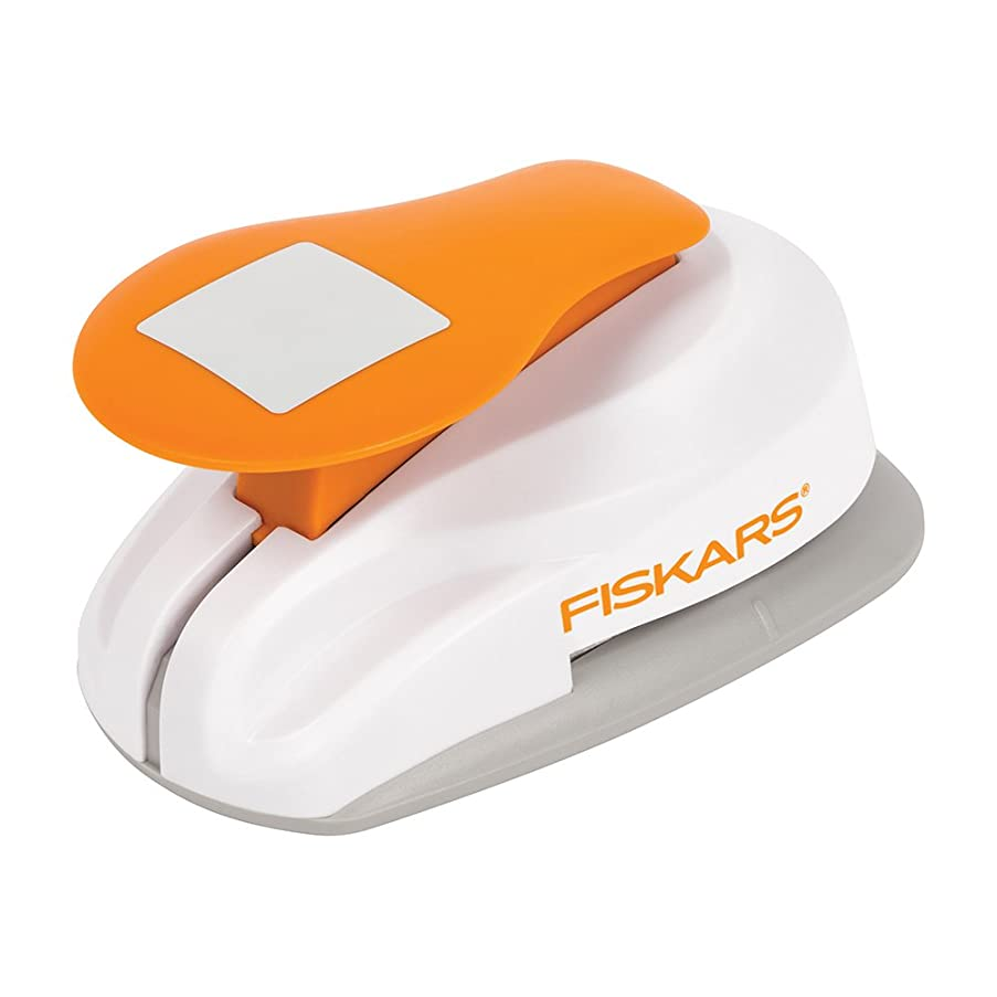 Fiskars Lever Punch Square Planner Punch (1.5 X 1.5 Inch)