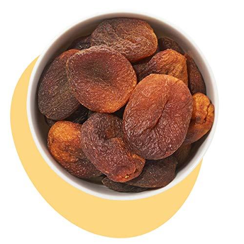 Kultsnack Getrocknete Aprikosen in Leckerer Premium Qualität – Naturbelassene und Ungeschwefelte Trockenfrüchte ohne Zucker – Müsli Früchte – Dried Apricots (Vegan, Glutenfrei) (1000 g)