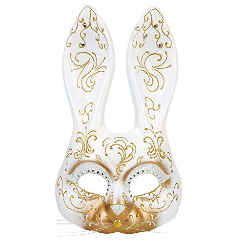 Boland 00205 Maske Venice coniglietta, One Size