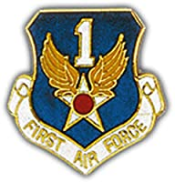 U.S. AIR FORCE, 21st Air Force SHIELD - Original Artwork, Expertly Designed PIN - 1""