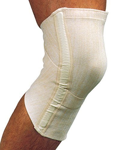 MANIFATTURA BERNINA Saniform 1531 (Talla 5) - Rodillera ortopédica con Varillas Laterales para ligamentos Apoyo de la Rodilla