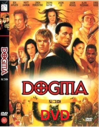 Dogma (1999) DVD/Matt Damon, Ben Affleck, Linda Fiorent