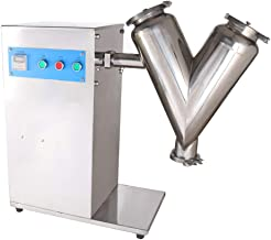 MXBAOHENG V Type Dry Powder Mixer Particle Blender Granual Mixing Machine 2L 2kg (V-5, 220V)