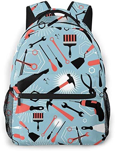 Globo alfabeto conjunto básico viaje portátil mochila Cool School Bag-Herramientas para reparación