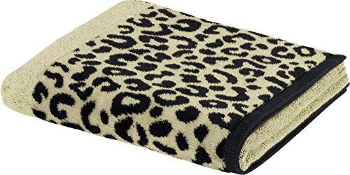 Möve Handtücher, Beige-schwarz, 80x150 cm