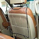 Fundas de asiento de carro Cómodo asiento trasero del coche del protector de la cubierta de asiento for bebés y niños