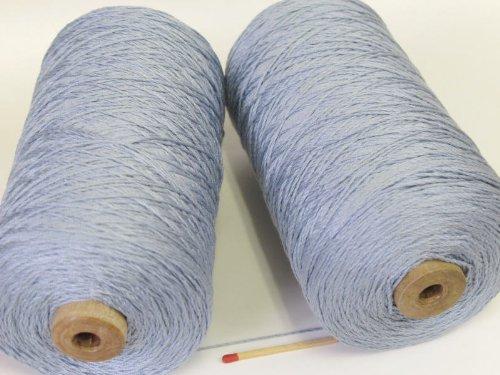 絹紡(太)(みずいろ) しっとり、しなやかな扱いやすい絹糸です