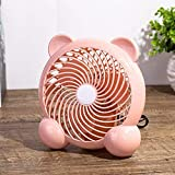 YLLN Fan USB Powered Mini Desk Fans Small Desk Fans USB Car Fan Little Fan Small Fan Small Fans Cooling Quiet Mini Fan Desk Fan Fan Small Fan Same Day Delivery Table Fans Pink