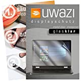 uwazi I 3X Glas-klare Schutzfolie für Medion Akoya E2228T Bildschirmschutzfolie I Folie I Anti Fingerabdruck I Anti Kratzer