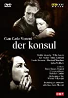 メノッティ:歌劇「領事」(ドイツ語歌唱) [DVD]