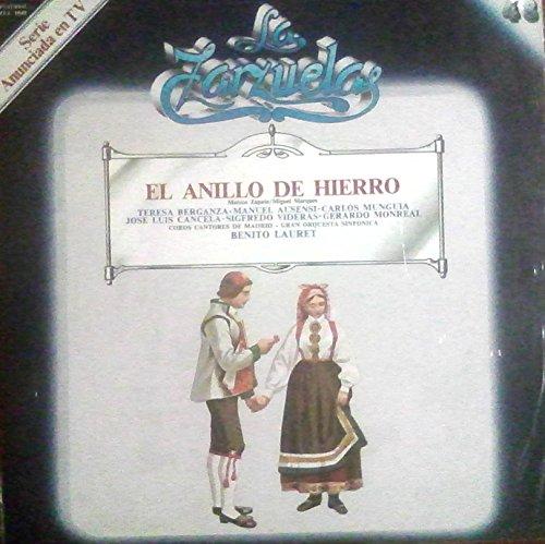 Disco Vinilo - Old vinyl .- EL ANILLO DE HIERRO