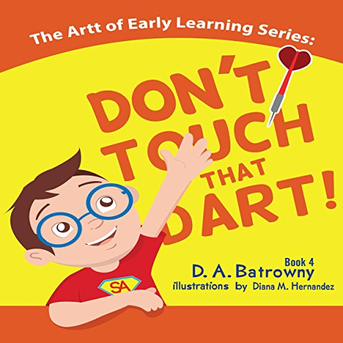Don't Touch That Dart! audiobook cover art