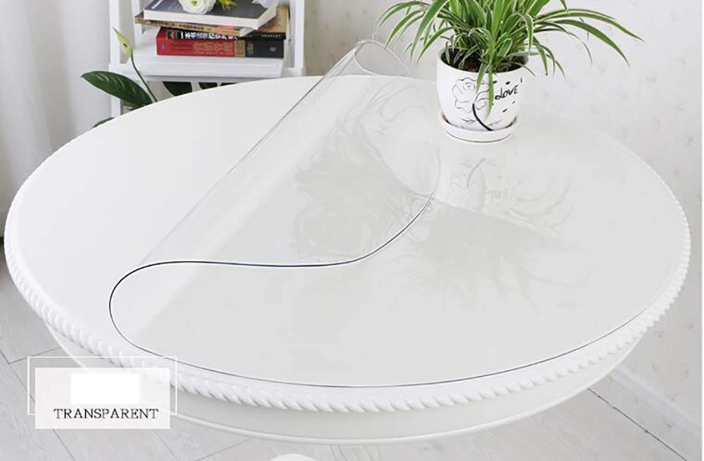 venta caliente en línea Table mat Estera de Tabla Tabla Tabla Anti-escaldada Impermeable y a Prueba de Aceite rojoonda, Estera de Tabla Enrollable blancoa Transparente  entrega de rayos