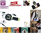 Universal Cell Phone Leash/ Retractable Carabiner Hook/ Replaces Armband Holder/ Replaces Lanyard Strap/ Build in Selfie Stick/ Boating Gear/ Climbing Gear/ Workout Gear/ Sports Gear (All in 1)