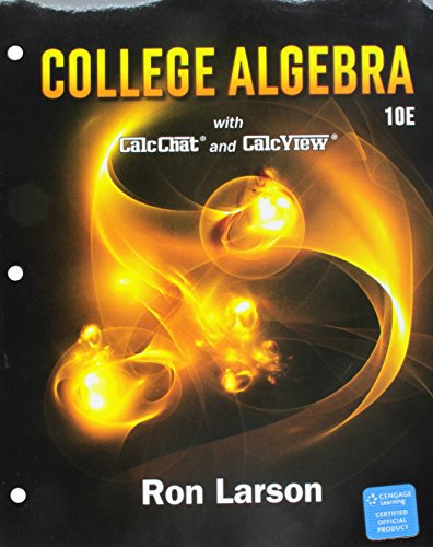 Bundle: College Algebra, Loose-leaf Version, 10th + WebAssign, Single-Term Printed Access Card