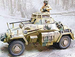 THE COLLECTORS SHOWCASE WW2 GERMAN WINTER CS00574 SDKFZ 222 ARMORED CAR MIB ,#G14E6GE4R-GE 4-TEW6W283956
