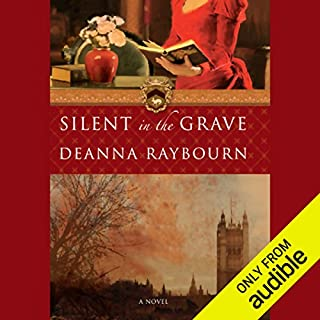 Silent in the Grave audiobook cover art