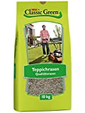 Classic Green Rasensaat Teppichrasen Rasensaat 10kg, Grassamen, Rasensamen 10kg, Premium Rasensaat, Rasensaat Teppichrasen, Rasensaatgut, Rasensaat Teppich, Teppich Zierrasen