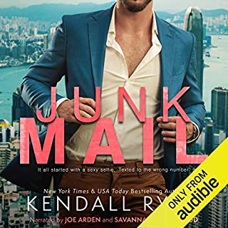 Junk Mail                   By:                                                                                                                                 Kendall Ryan                               Narrated by:                                                                                                                                 Joe Arden,                                                                                        Savannah Peachwood                      Length: 6 hrs and 8 mins     23 ratings     Overall 4.4