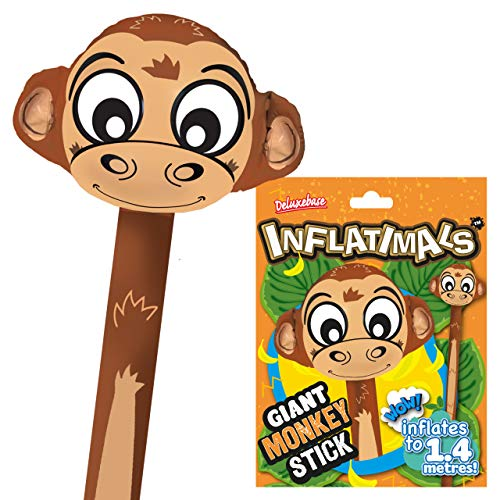 Deluxebase Inflatimals Monkey. Giant Inflatable Monkey from Cute Blow...