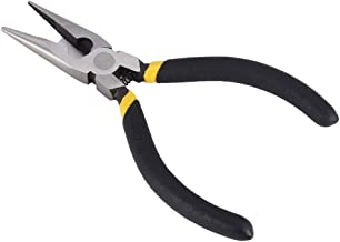 L204C15 Sharp Nose Pliers Cutter Cutting Copper Cable Wire Repair Clamp High Carbon Steel Hand Tools Snip Nipper