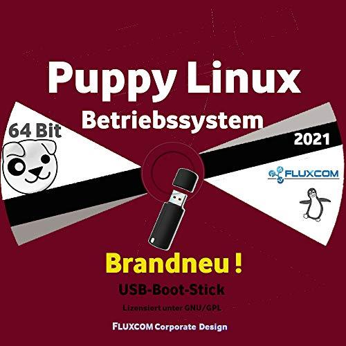 Puppy Linux Slacko 7.0 64 Bit, Live, deutsch auf 32GB USB-Boot-Stick
