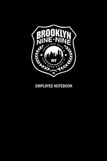Brooklyn 99 Notebook / Journal / Diary: Perfect gag gift for family & friends! with Page Numbers & Content Page, Great for...