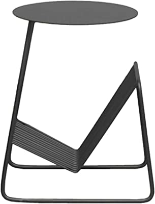 Amazon.com: ZHNAYI Mesa de café, mesa auxiliar geométrica ...