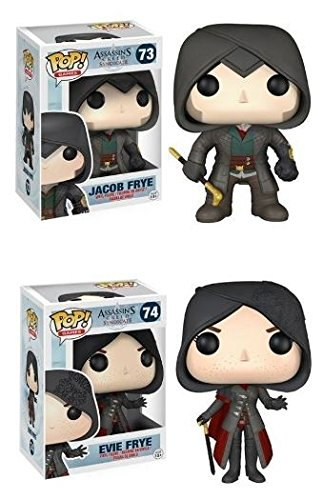 Funko POP! Assassin's Creed Syndicate: Jacob & Evie Frye – Vinyl Figure Pack New