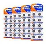 AG13 Alkaline Button Cell 1.5V LR44 Batteries Coin Cell- 40Count