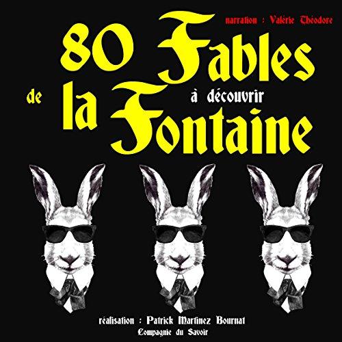 80 Fables de La Fontaineà découvrir audiobook cover art