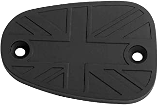 Motone Brake Reservoir Cover - Union Jack Flag - Black - Bonneville, T100, T120, Thruxton - SNG215