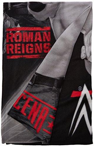 WWE Stars Fleece Decke, grau