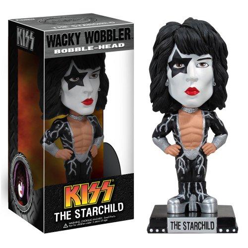 Kiss The Starchild Wacky Wobbler Bobble-Head [Import allemand]